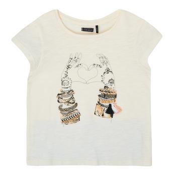 Clothing Girl Short-sleeved t-shirts Ikks XS10002-11-C White