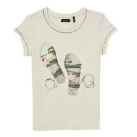 Clothing Girl Short-sleeved t-shirts Ikks XS10132-11-C White