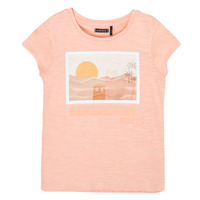 Clothing Girl Short-sleeved t-shirts Ikks XS10332-32-C Pink