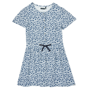 Clothing Girl Short Dresses Ikks XS30102-48-C Blue