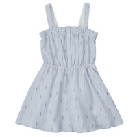 Clothing Girl Short Dresses Ikks XS31022-48-C Blue