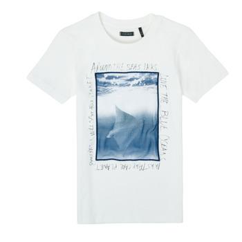 Clothing Boy Short-sleeved t-shirts Ikks XS10033-19-C White