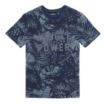 Clothing Boy Short-sleeved t-shirts Ikks XS10153-46-C Marine