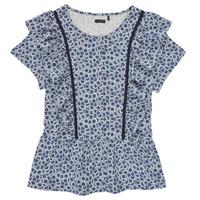 Clothing Girl Tops / Blouses Ikks XS12052-48-J Blue