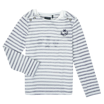 Clothing Girl Long sleeved tee-shirts Ikks XS10052-19-J Multicolour