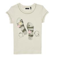 Clothing Girl Short-sleeved t-shirts Ikks XS10132-11-J White