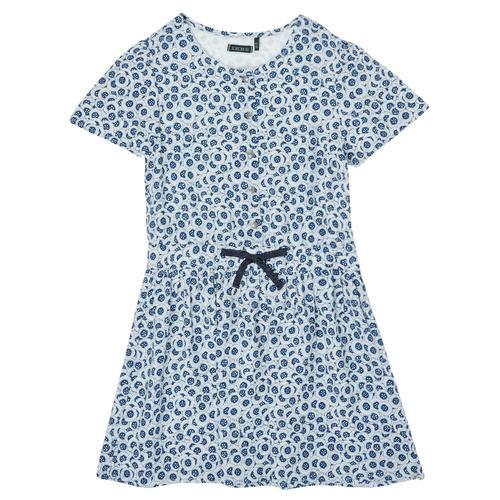 Clothing Girl Short Dresses Ikks XS30102-48-J Blue