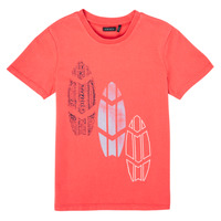 Clothing Boy Short-sleeved t-shirts Ikks XS10043-79-J Red