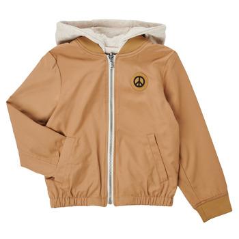 Clothing Boy Jackets Ikks XS41063-64-J Beige