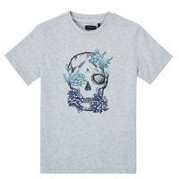 Clothing Boy Short-sleeved t-shirts Ikks XS10243-21-J Grey