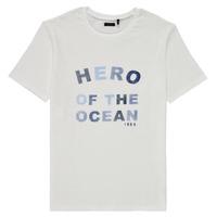 Clothing Boy Short-sleeved t-shirts Ikks XS10343-19-J White