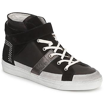 Shoes Women Hi top trainers Janet Sport ISABEL MARGETTE Black