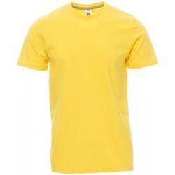 Clothing Men Short-sleeved t-shirts Payper Wear T-shirt Payper Sunset jaune