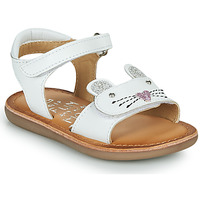 Shoes Girl Sandals Mod'8 CLOONIE White