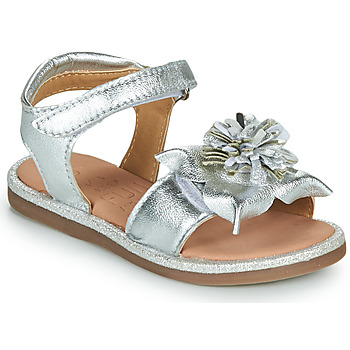 Shoes Girl Sandals Mod'8 PAXILLA Silver