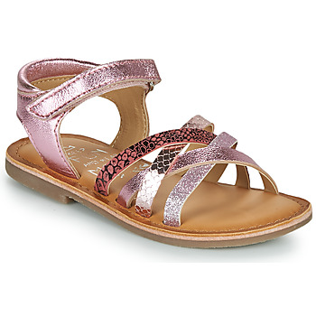 Shoes Girl Sandals Mod'8 CANILA Pink
