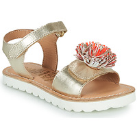 Shoes Girl Sandals Mod'8 JELLINE Gold / Coral