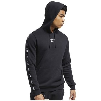 Clothing Men Sweaters Reebok Sport TE Tape Hoodie Black