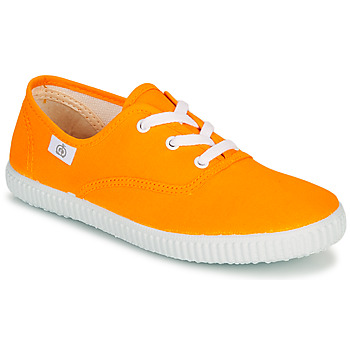 Shoes Children Low top trainers Citrouille et Compagnie KIPPI BOU Yellow