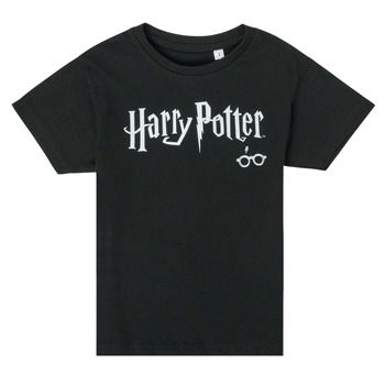 Clothing Children Short-sleeved t-shirts TEAM HEROES  HARRY POTTER Black