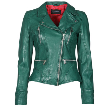Clothing Women Leather jackets / Imitation leather Oakwood CAMERA Green