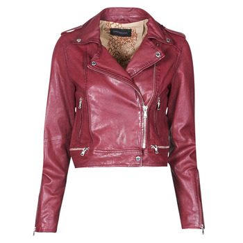 Clothing Women Leather jackets / Imitation leather Oakwood KYOTO Bordeaux