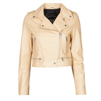 Clothing Women Leather jackets / Imitation leather Oakwood YOKO Cream