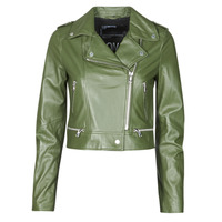 Clothing Women Leather jackets / Imitation leather Oakwood YOKO Kaki
