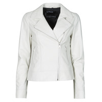 Clothing Women Leather jackets / Imitation leather Oakwood MARJORY White