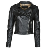 Clothing Women Leather jackets / Imitation leather Oakwood ALIZEE Black
