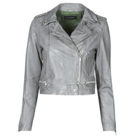 Clothing Women Leather jackets / Imitation leather Oakwood KYOTO Grey