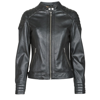 Clothing Women Leather jackets / Imitation leather Oakwood ELLA Black