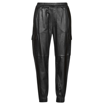 Clothing Women 5-pocket trousers Oakwood CARGO Black