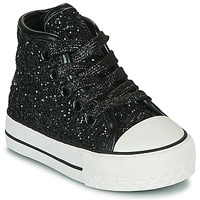 Shoes Girl Hi top trainers Citrouille et Compagnie OUTIL Black