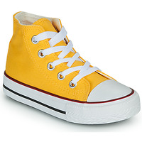 Shoes Children Hi top trainers Citrouille et Compagnie OUTIL Yellow