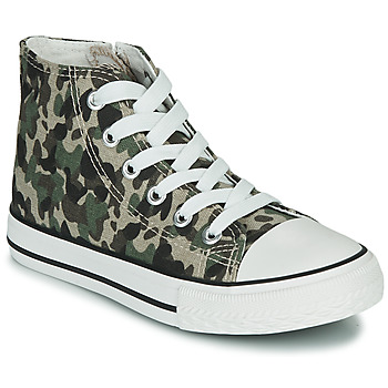Shoes Children Hi top trainers Citrouille et Compagnie OUTIL Camouflage