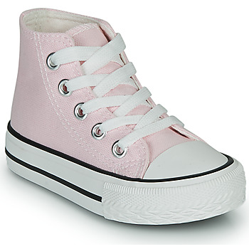 Shoes Girl Hi top trainers Citrouille et Compagnie OUTIL Pink