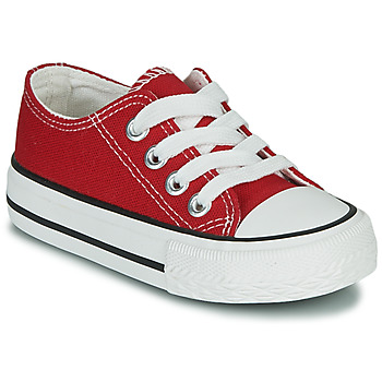 Shoes Children Low top trainers Citrouille et Compagnie OTAL Red