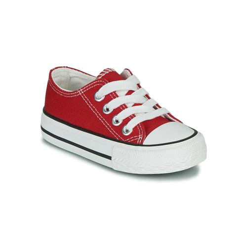 Shoes Children Low top trainers Citrouille et Compagnie OTAL Red
