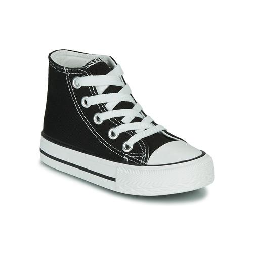 Shoes Children Hi top trainers Citrouille et Compagnie OUTIL Black