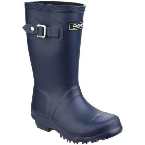 Shoes Girl Wellington boots Cotswold Buckingham Childrens Wellingtons blue