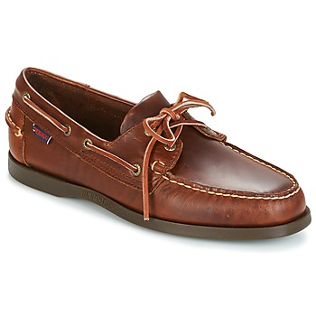 Shoes Men Boat shoes Sebago DOCKSIDES Brown