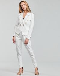 Clothing Women Wide leg / Harem trousers Les Petites Bombes ALEXANDRA White