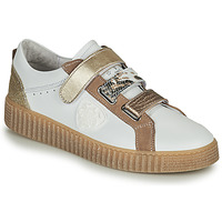 Shoes Women Low top trainers Philippe Morvan ZOFA V1 White / Gold