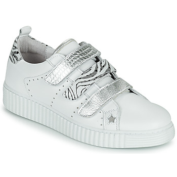 Shoes Women Low top trainers Philippe Morvan ZARKO V1 White / Silver