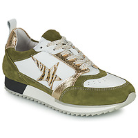 Shoes Women Low top trainers Philippe Morvan ROOXY V2 White / Kaki