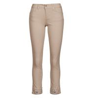 Clothing Women 5-pocket trousers Liu Jo IDEAL Beige