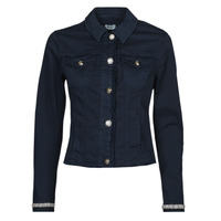 Clothing Women Denim jackets Liu Jo WA1127-T6446-T9812 Marine