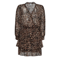 Clothing Women Short Dresses Liu Jo WA1530-T5059-T9680 Leopard