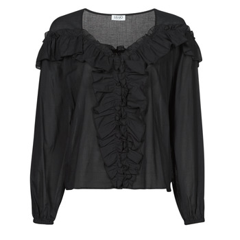 Clothing Women Tops / Blouses Liu Jo WA1084-T5976-22222 Black
